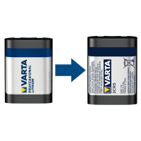 Varta Photo Lithium ehem. Professional Lithium 2CR5 6V Fotobatterie (1er Blister)