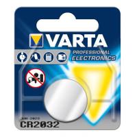 Varta Professional Electronics CR2032 Lithium Knopfzelle 3V (1er Blister) UN3090
