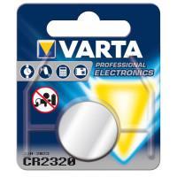 Varta Professional Electronics CR2320 Lithium Knopfzelle 3V (1er Blister) UN3090