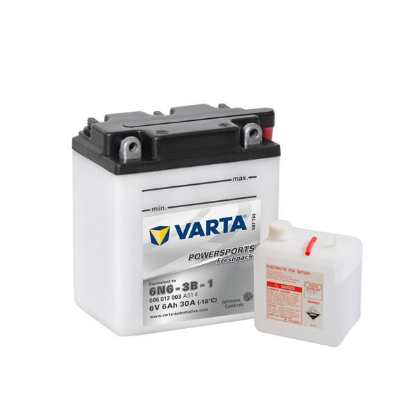 Varta Powersports Fresh Pack 6V - 6AH - 30A (EN)