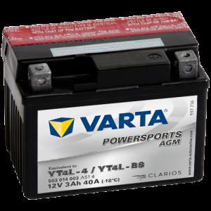 Varta Powersports AGM (LF) 12V - 3AH - 40A (EN)