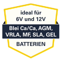 VPZ-LOAD 5000PLUS - 9 Ladestufen - 6V/12V - 2-110Ah