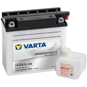 Varta Powersports Fresh Pack 12V - 5,5AH - 55A (EN)