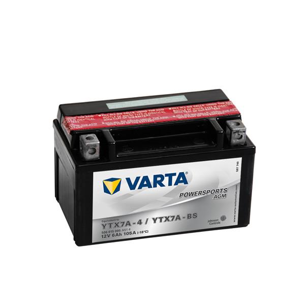 Varta Powersports AGM (LF) 12V - 6AH - 105A (EN)