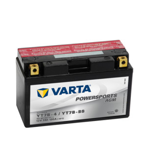 Varta Powersports AGM (LF) 12V - 7AH - 120A (EN)
