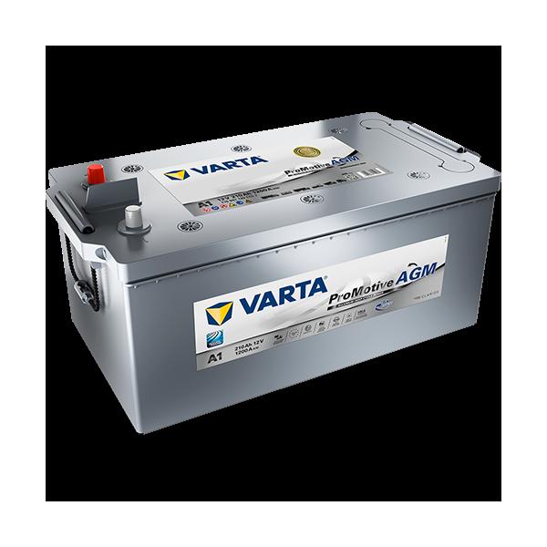 Varta A1 - 12V - 210AH - 1200A (EN)