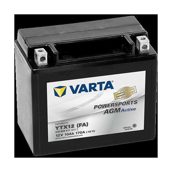 Varta Powersports AGM Active 12V - 10AH - 170A (EN)