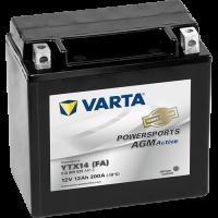 Varta Powersports AGM Active 12V - 12AH - 200A (EN)