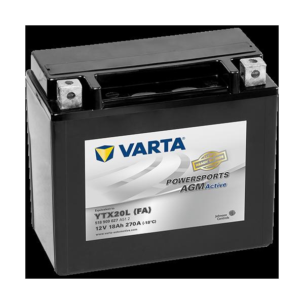 Varta Powersports AGM Active 12V - 18AH - 270A (EN)