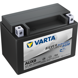 Varta Silver Dynamic AUX9 - 12V - 9AH - 130A (EN)