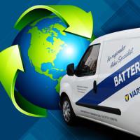 Fachgerechte Altbatterieentsorgung