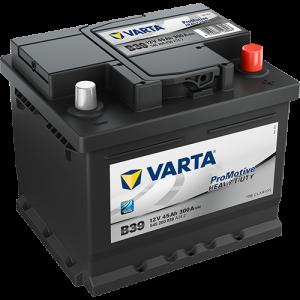 Varta B39 - 12V - 45AH - 300A (EN)