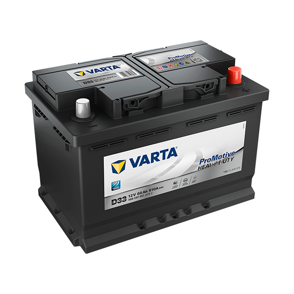 Varta D33 - 12V - 66AH - 510A (EN)
