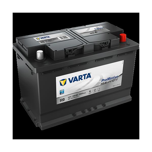 Varta H9 - 12V - 100AH - 720A (EN)