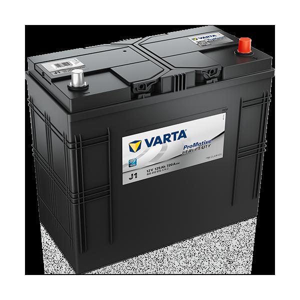 Varta J1 - 12V - 125AH - 720A (EN)