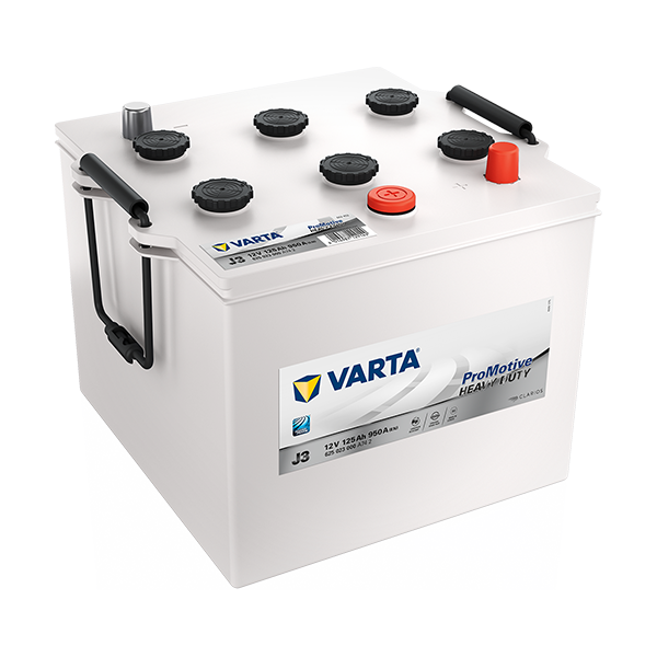 Varta J3 - 12V - 125AH - 950A (EN)