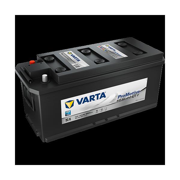 Varta K4 - 12V - 143AH - 950A (EN)