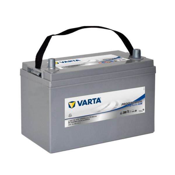 Varta LAD115 - 12V - 115AH - 550A (EN)
