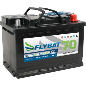 Flybat F70 AGM - 12V - 70AH - 760A (EN)
