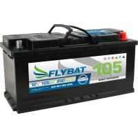 Flybat F105 AGM - 12V - 105AH - 950A (EN)