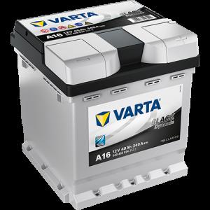 Varta Black Dynamic A16 - 12V - 40AH - 340A (EN)