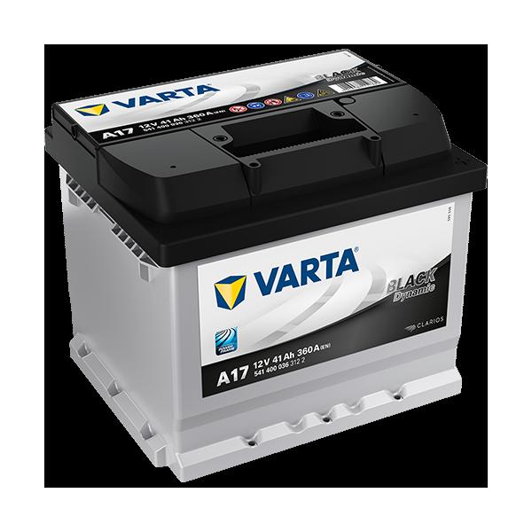 Varta Black Dynamic A17 - 12V - 41AH - 360A (EN)