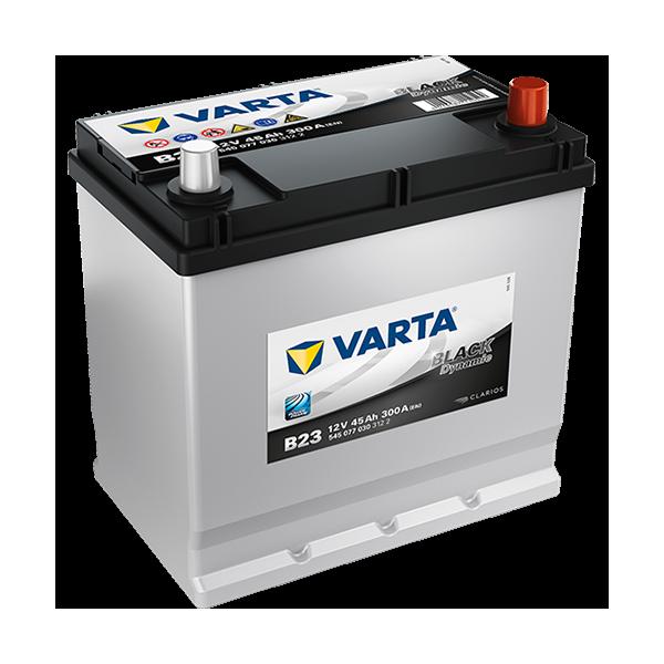 Varta Black Dynamic B23 - 12V - 45AH - 300A (EN)