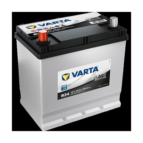 Varta Black Dynamic B24 - 12V - 45AH - 300A (EN)