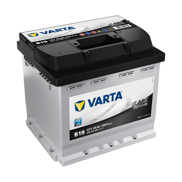 Varta Black Dynamic B19 - 12V - 45AH - 400A (EN)