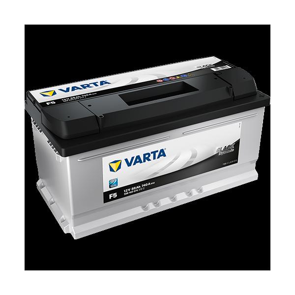Varta Black Dynamic F5 - 12V - 88AH - 740A (EN)