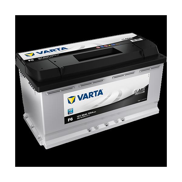 Varta Black Dynamic F6 - 12V - 90AH - 720A (EN)